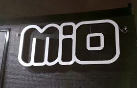 Illuminated letters MIO
